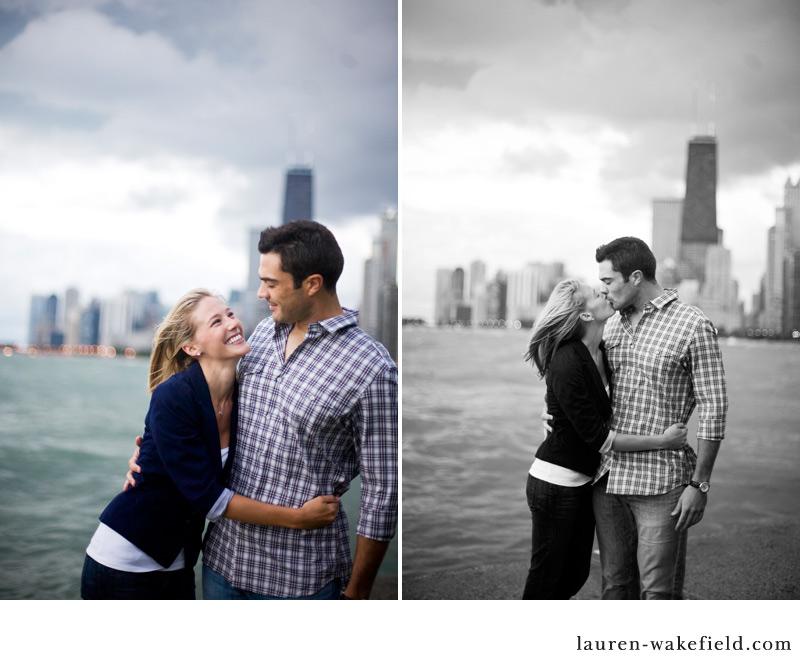 Chicago Engagement Photographer, North Avenue Beach