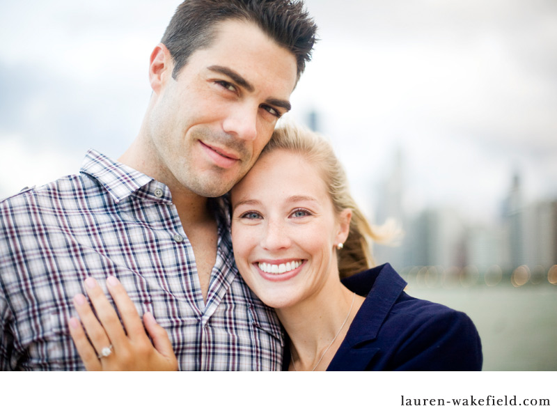 Chicago Engagement Photography, North Avenue Beach