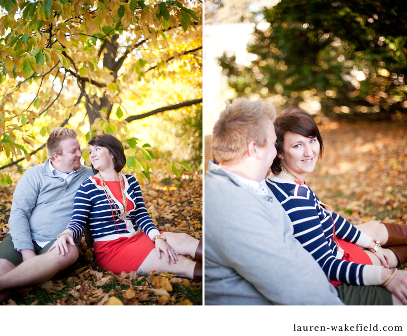 Morton Arboretum Engagement Photos, Fall Engagement Photos, Chicago Engagement Photographer