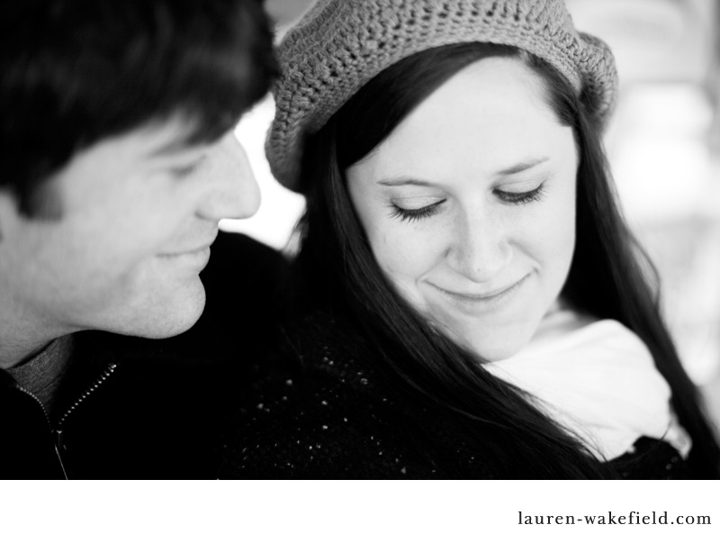 Downtown Chicago, Chicago engagement photos, winter engagement photos