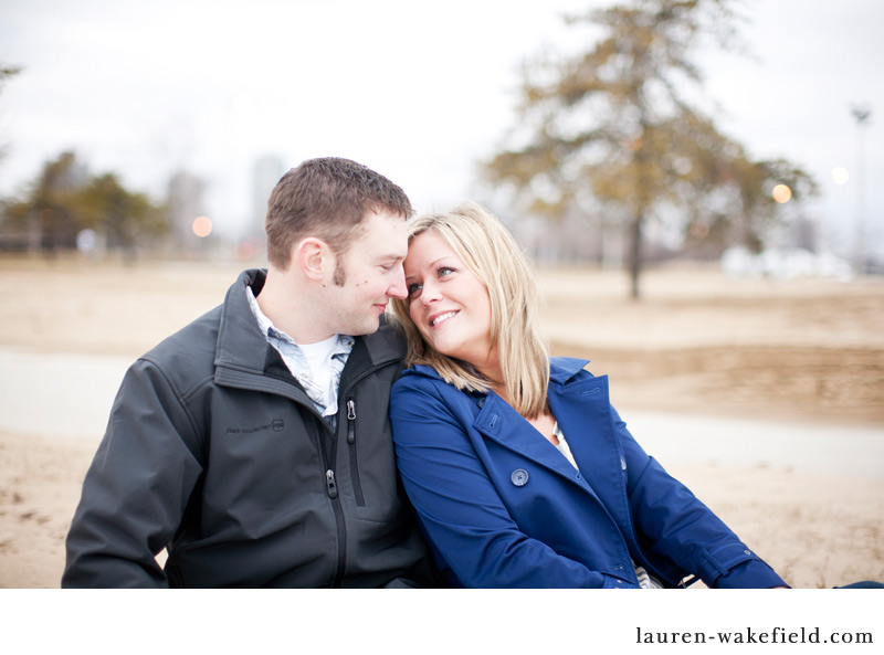 Chicago engagement photography, lakefront engagement session