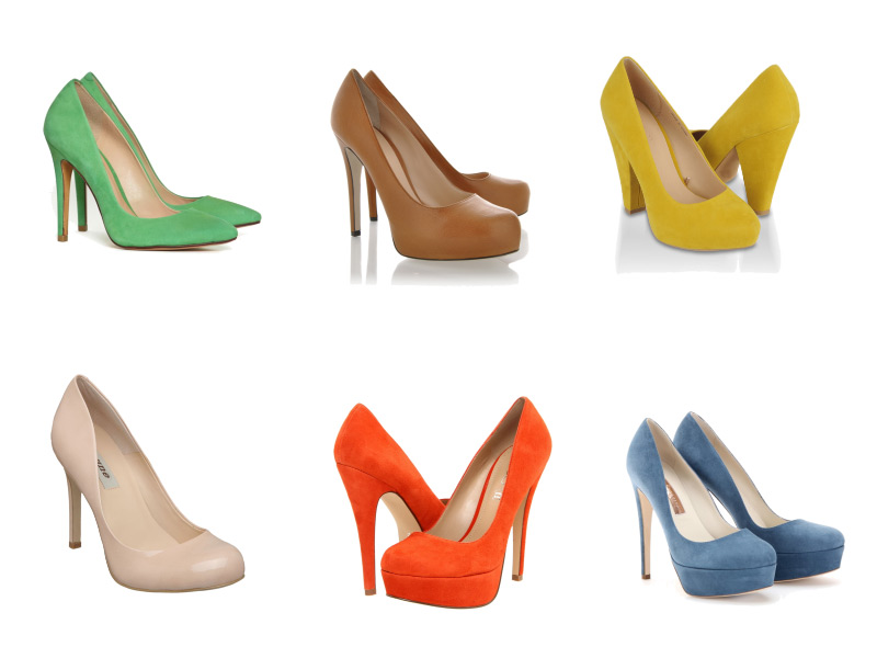 Summer Shoes, Fashion Friday, Neon Pumps