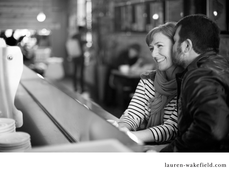 Andersonville engagement session