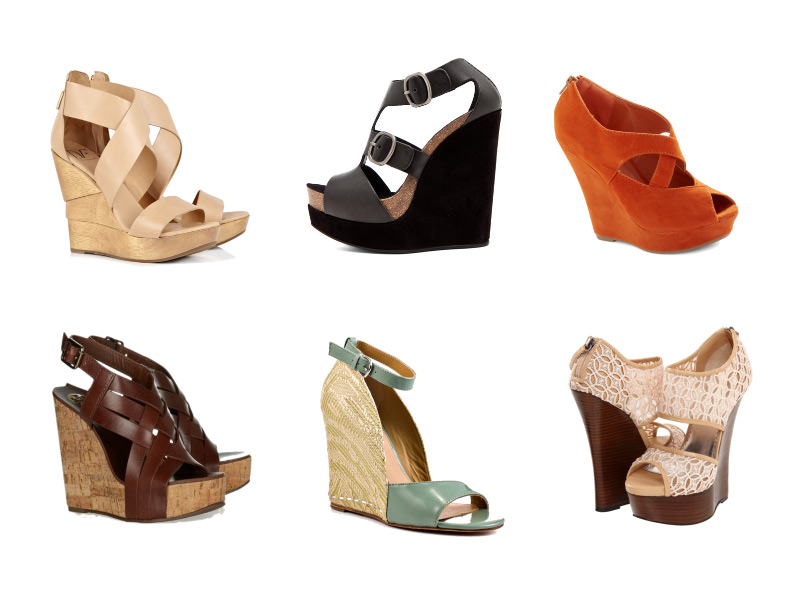 Summer Shoes, Fashion Friday, Wedge Sandals
