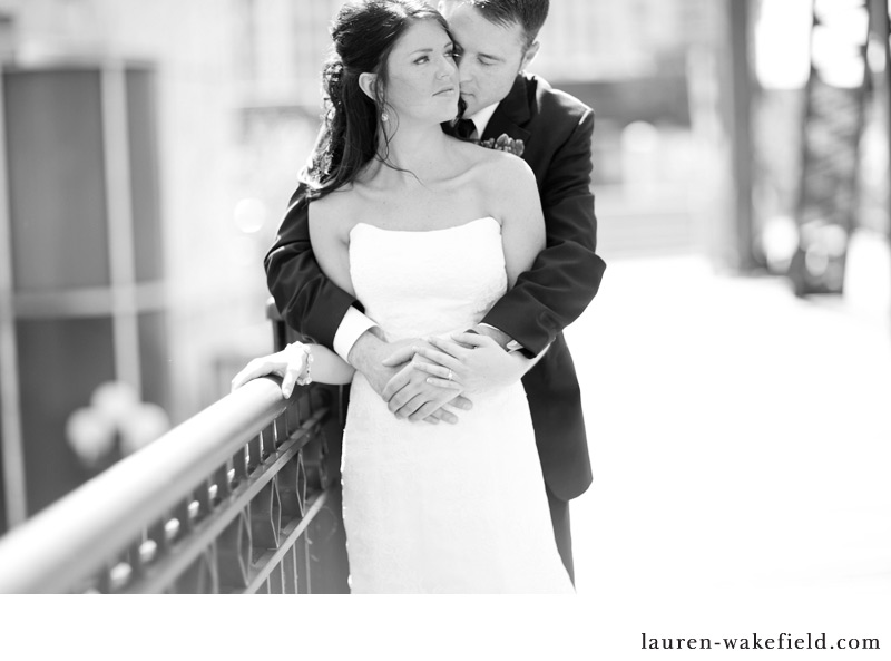 Downtown Chicago wedding, kinzie bridge, chicago wedding photography
