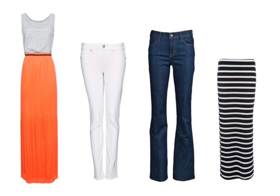 white jeans, fall basics, maxi skirt, falre jeans, fashion friday