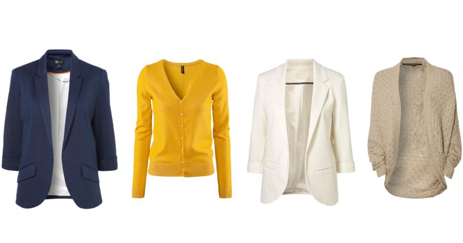 Navy blazer, white blazer, mustard cardigan, oversized cardigan, fashion friday, fall fashion