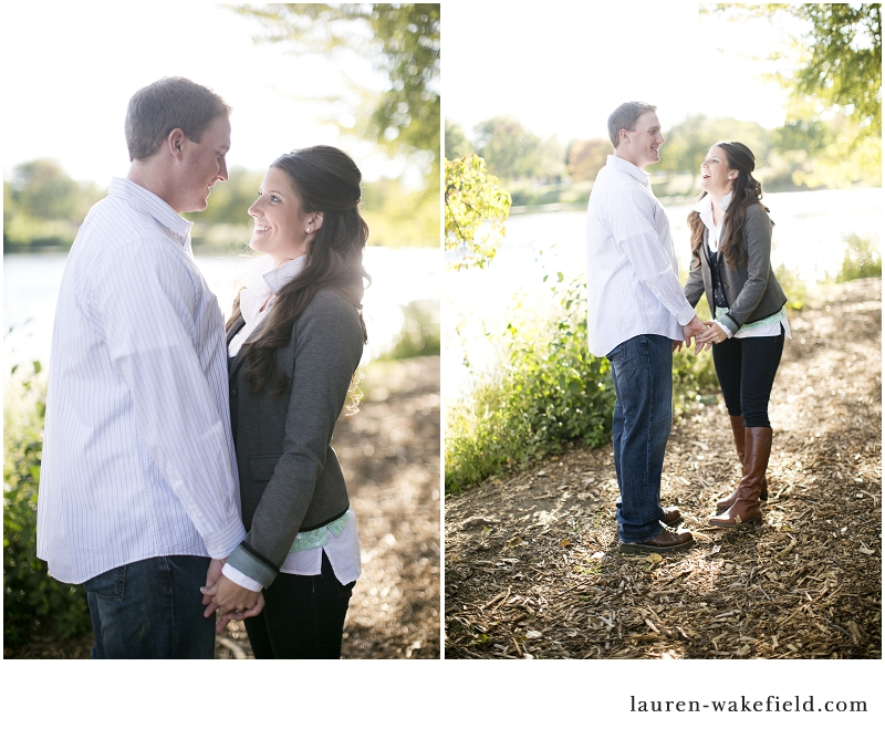 Lake Katherine, Lake Katherine engagement photos, engagement photos, chicago engagement photographer, chicago wedding photographer