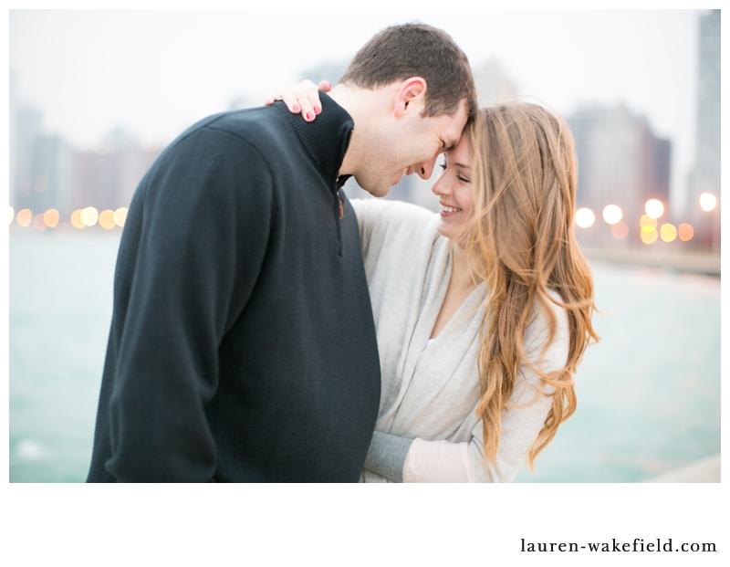 chicago wedding photographer, chicago engagement photographer, sunrise engagement photos, north avenue beach_001