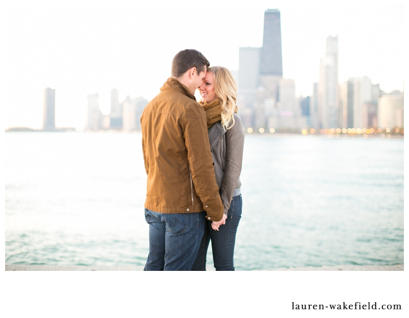 chicago wedding photographer, chicago engagement photographer, sunrise engagement photos north avenue beach_002