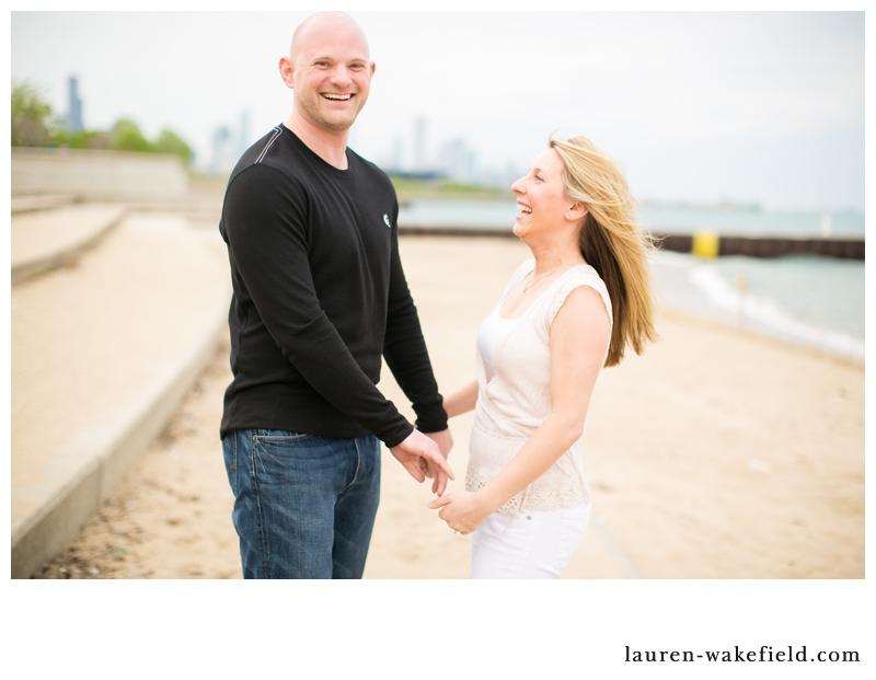 chicago wedding photographer, chicago engagement photographer, chicago engagement photos, beach engagement photos_003