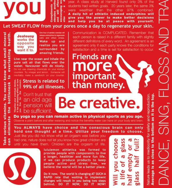 lululemon, small businesses, business experience, lululemon pants