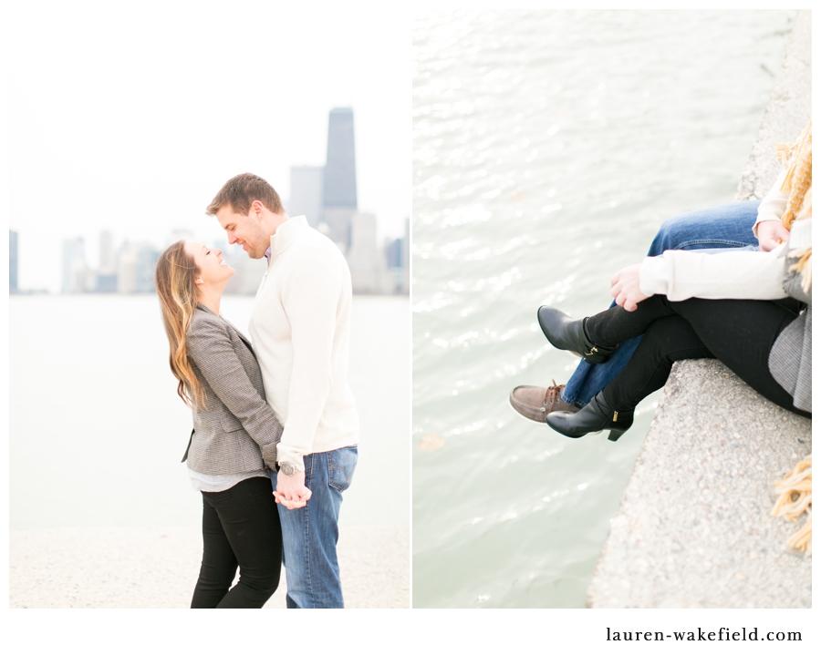 chicago wedding photographer, indianapolis wedding photographer, north avenue beach photos, north avenue beach, beach engagement photos_002