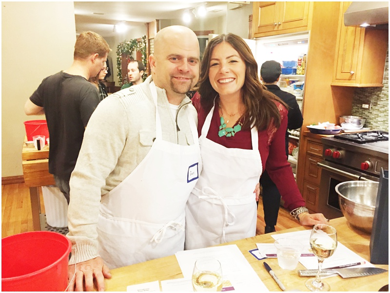 Date night cooking class