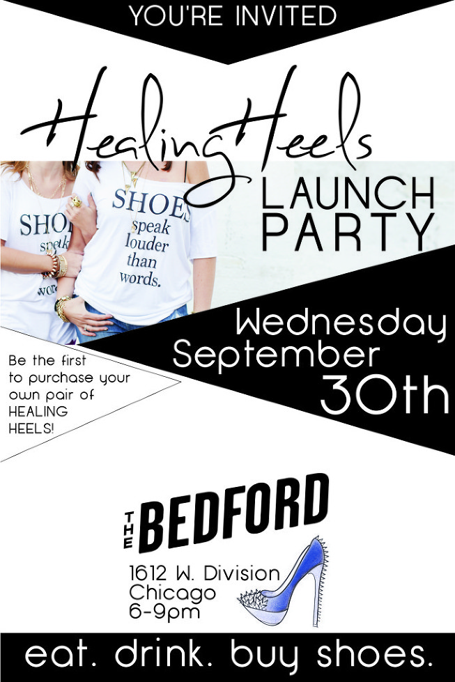 healing heels, healing heels launch party, chemo shoes, gifts for cancer patients, breast cancer survivors, the bedford