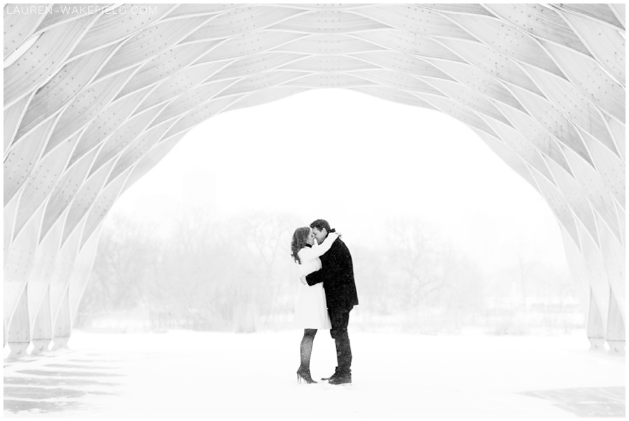 Indianapolis wedding photographer, chicago wedding photographer, snowy engagement session, snowy wedding_0003